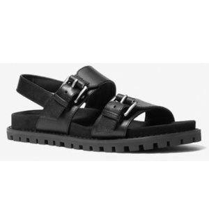 🔥HP🔥  MICHAEL Michael Kors Judd Leather Sandal